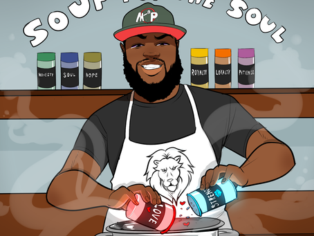 "Warm Your Day Up With Marcus Porter's ""Soup for the Soul"""