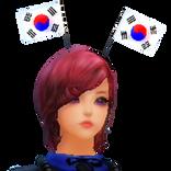 Korean National Flag Hat.png
