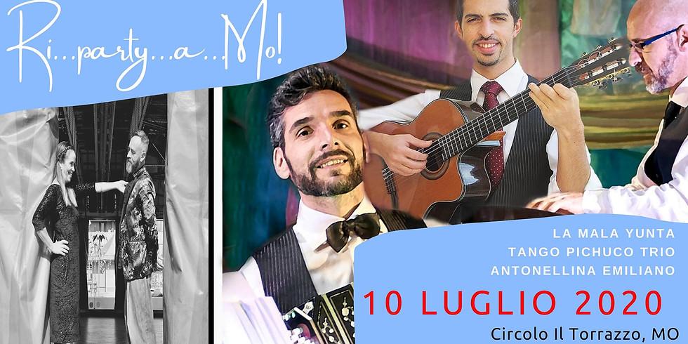 Tango Pichuco Trio | Mala Yunta | Modena