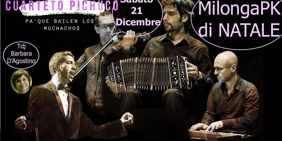 Cuarteto Pichuco | Milonga PK | Alessandria