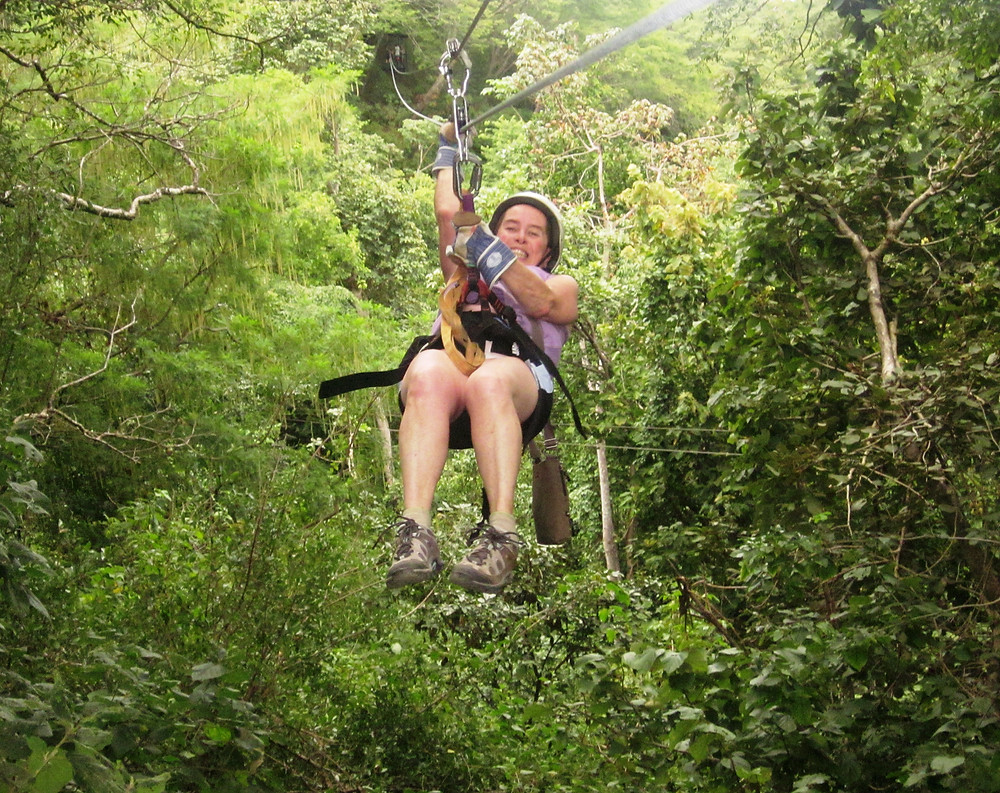 Ziplining in Costa Rica 2013