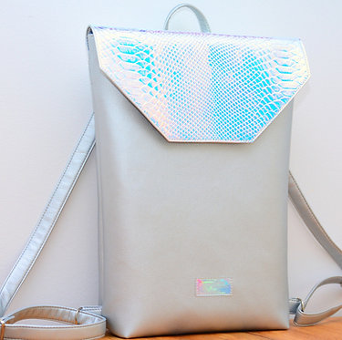 Silver Holo -  holographic backpack