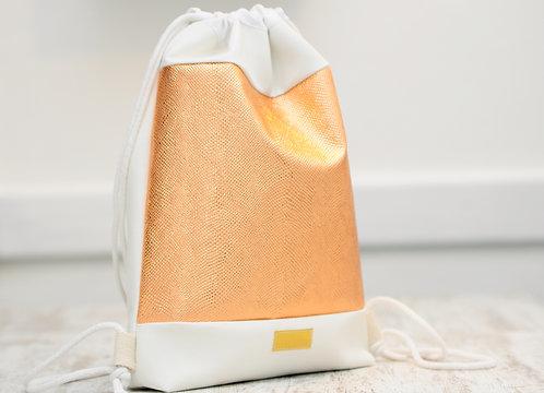 Gold Rosie - gym bag