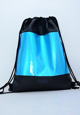 Blue holo gymbag