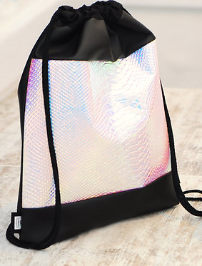 Black Snake - holographic gym bag