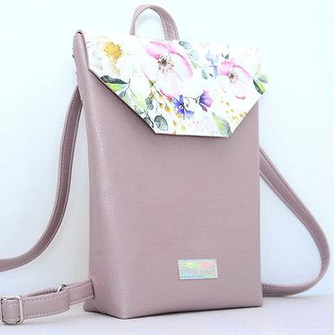 Floral Purple - MIDI backpack