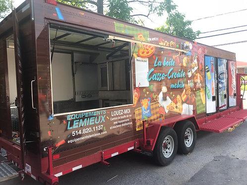 Camion de rue sur remorque (Trailer Food Truck)