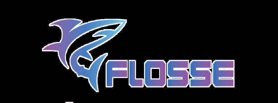 Transparent Flosse
