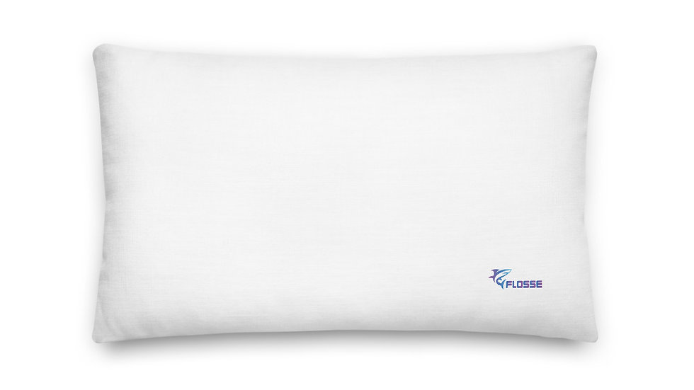 Flossed Pillow