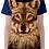 Thumbnail: Ladies Grey Wolf Face T Shirt