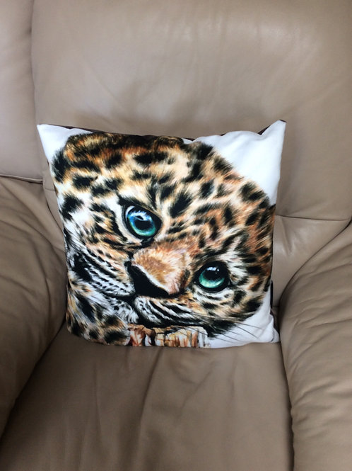 Baby Jaguar Vegan Friendly Cushion