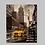 Thumbnail: New York City Yellow Cab Original Oil Painting
