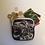 Thumbnail: Snow Leopard Square Coin Purse/Accessory Pouch