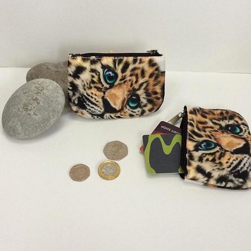 Jaguar Cub Coin Purses