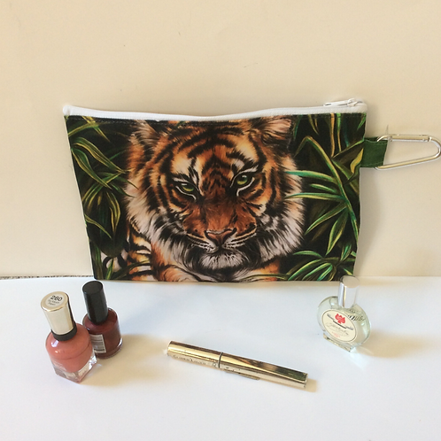 Tiger Pencil Case-Cosmetic Bag