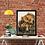 Thumbnail: Two Hugging Bears Drawing Fine Art Print