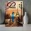 Thumbnail: Parisian Pathways Original Oil Painting