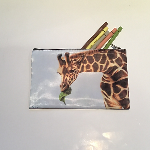 Giraffe Pencil Case/ Cosmetic Bag