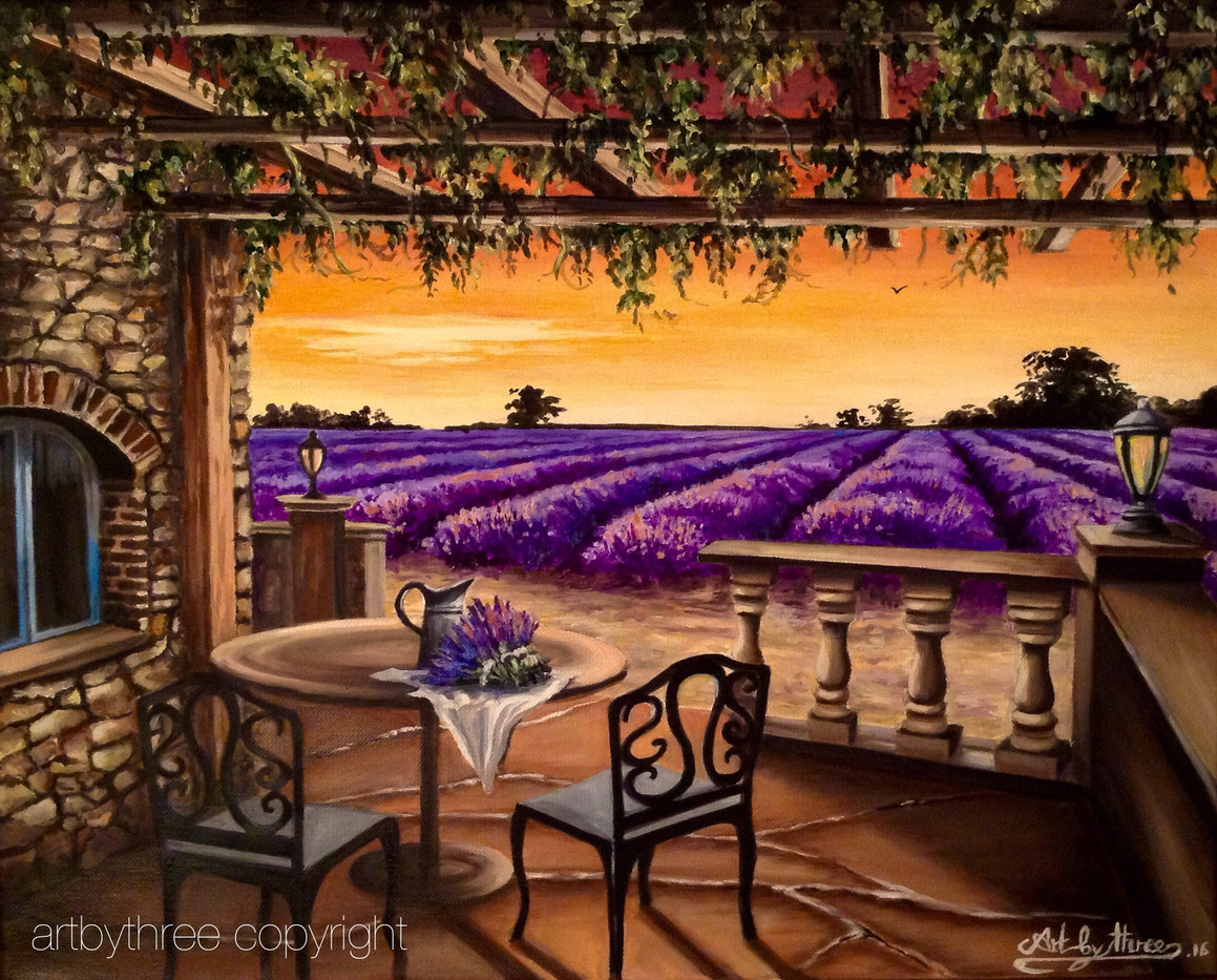 Lavender Of Provence