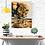 Thumbnail: Male Lion Reflections Art Poster