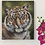 Thumbnail: Tiger Cub Original Oil Painting