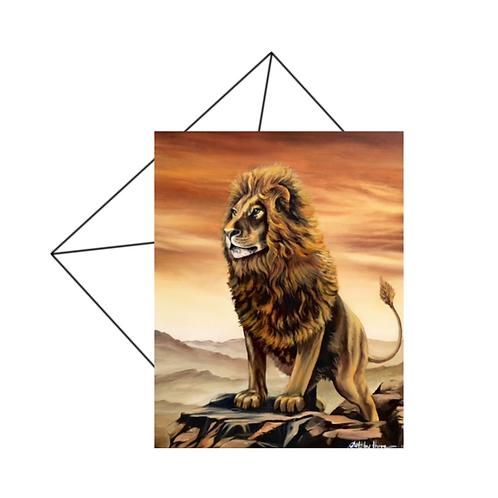 Lion King Card Blank