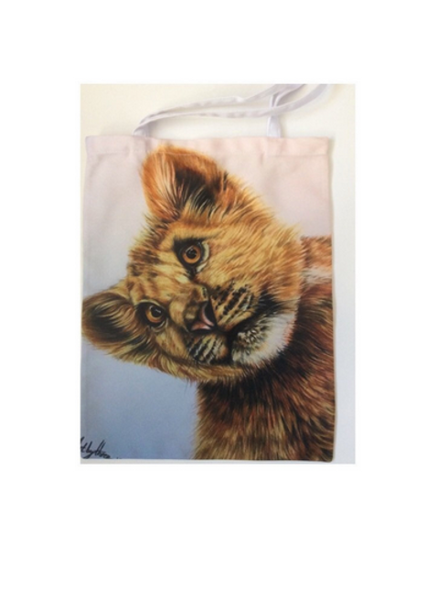 Lion Cub Tote Bag For Life