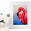Thumbnail: Pink Flamingo Original Drawing