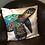 Thumbnail: Sea Turtle Illustrated Faux Suede Cushion