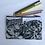 Thumbnail: Snow Leopards Pencil Case/ Cosmetic Bag