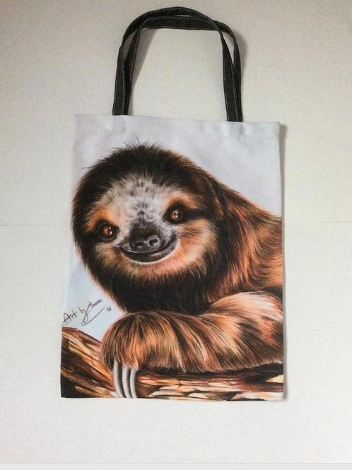 Smiling Sloth Tote Bag For Life
