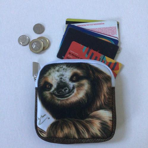 Sloth Coin Purse/Accessory Pouch
