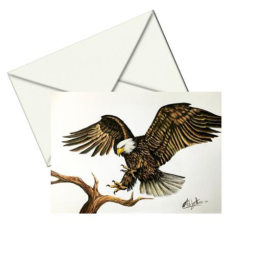 Bald Eagle Fine Art Card