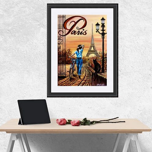 Parisian Pathways  Print