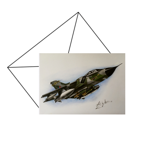 Tornado Card, Military Aircraft Card