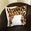 Thumbnail: Giraffe Illustrated Faux Suede Cushion