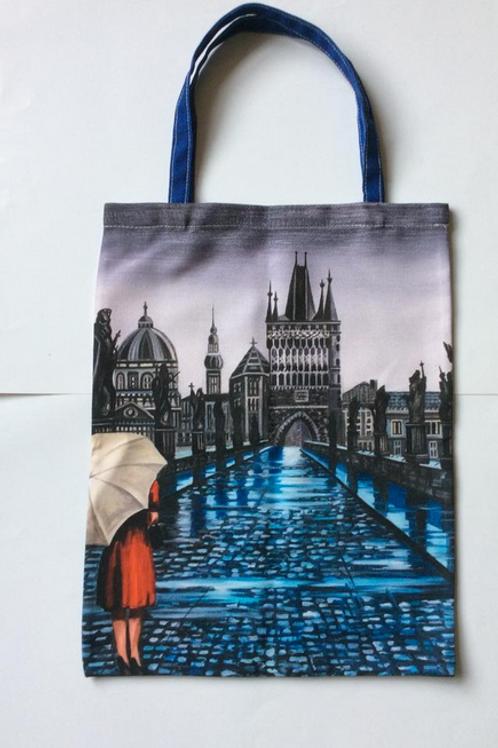 Prague City Tote Bag For Life