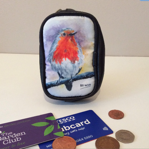 Robin Red Breast Coin Purses