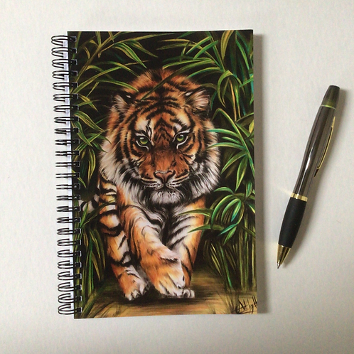Tiger A5 Lined Notebook