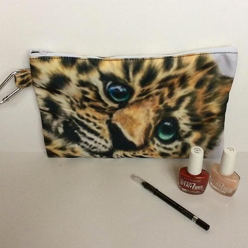 Baby Jaguar Pencil Case-Cosmetic Bag
