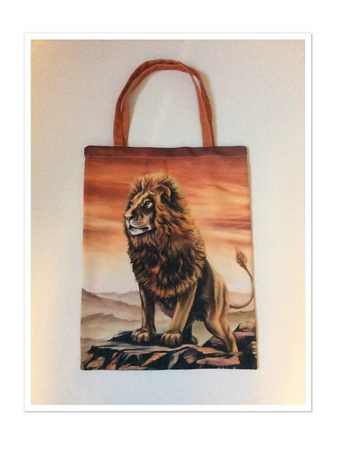 Lion Tote Bag For Life
