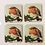 Thumbnail: Red Robin Coaster Set of Four