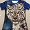 Thumbnail: Snow Leopard Ladies Full Print T Shirt XL