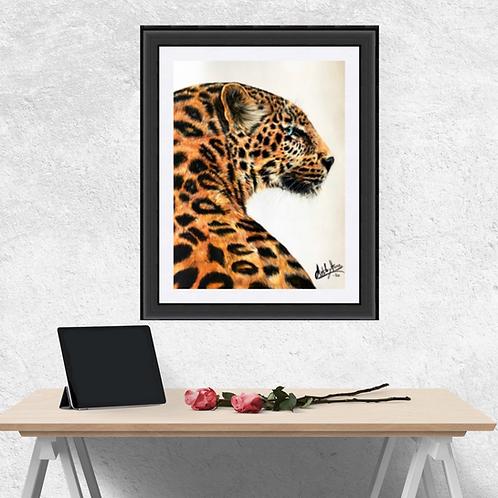 Jaguar Original Drawing