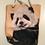 Thumbnail: Panda Cub Rope Tote Bag