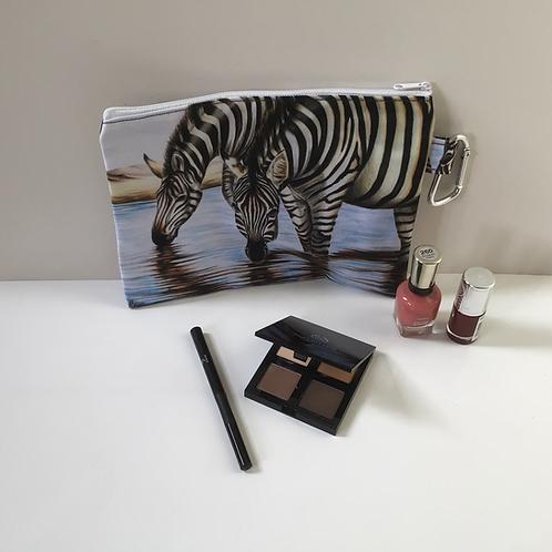 Zebras Pencil Case-Cosmetic Bag