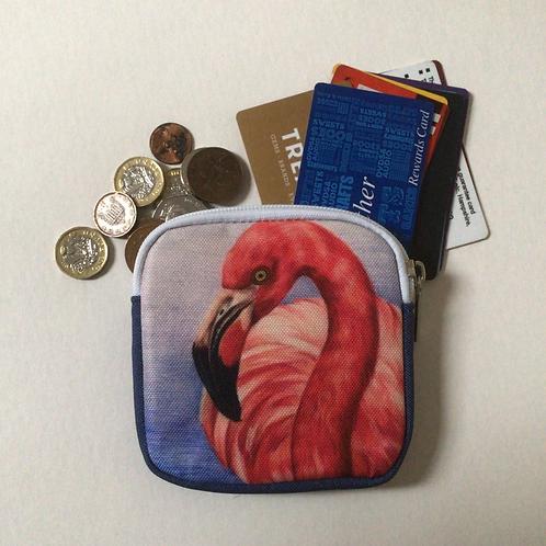 Flamingo Coin Purse/Accessory Pouch