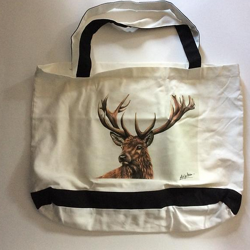 STAG COTTON TOTE Bag For Life
