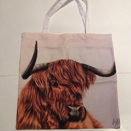 Highland Cow Bag For Life