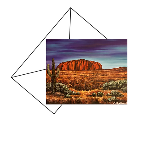 Uluru Ayres Rock Card